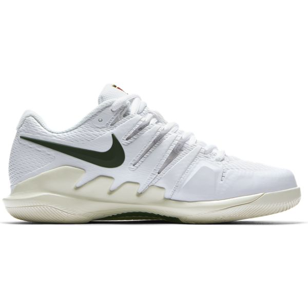 Nike Air Zoom Vapor X Women's Tennis Shoe (WhiteGreenCream)