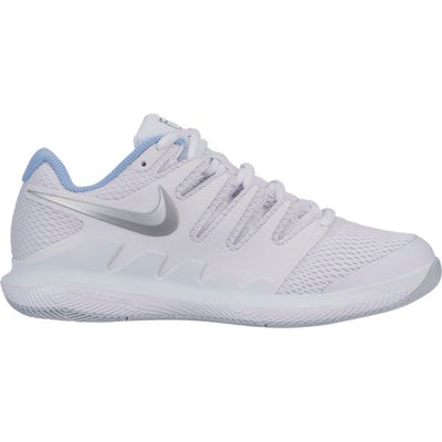 Nike Air Zoom Vapor X Women's Tennis Shoe (White/Silver)