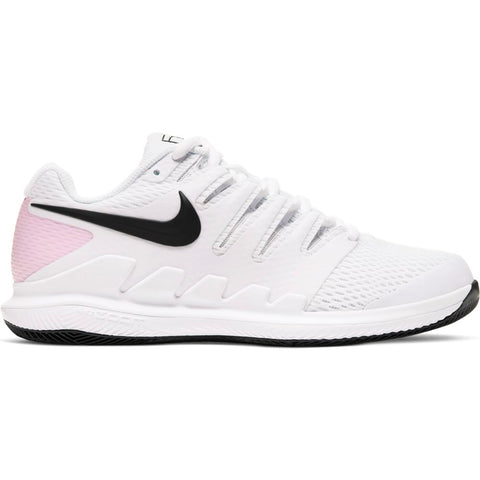 Nike Air Zoom Vapor X Women's Tennis Shoe (White/Pink) - RacquetGuys