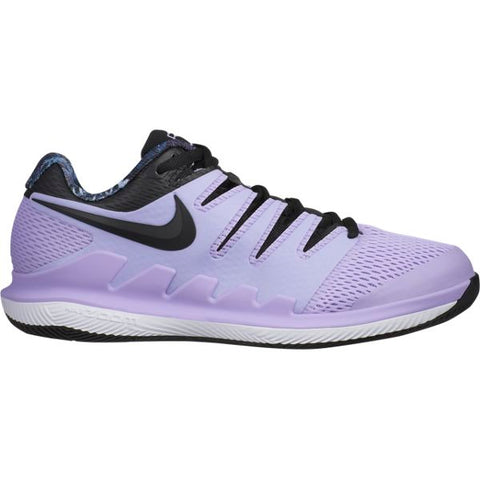 Nike Air Zoom Vapor X Women's Tennis Shoe (Purple/Black) - RacquetGuys