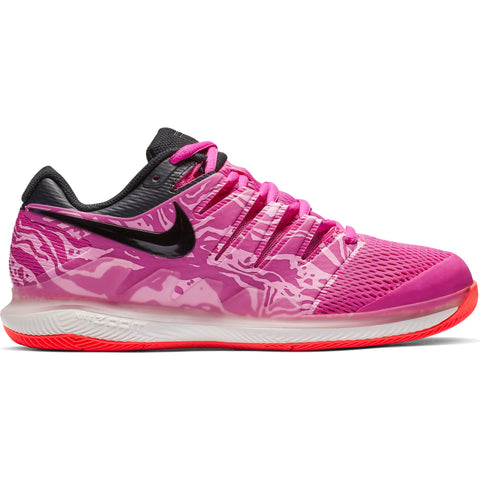 Nike Air Zoom Vapor X Women's Tennis Shoe (Fuchsia/Black)