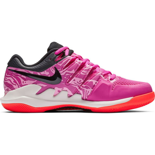 Nike Air Zoom Vapor X Women's Tennis Shoe (Fuchsia/Black) - RacquetGuys