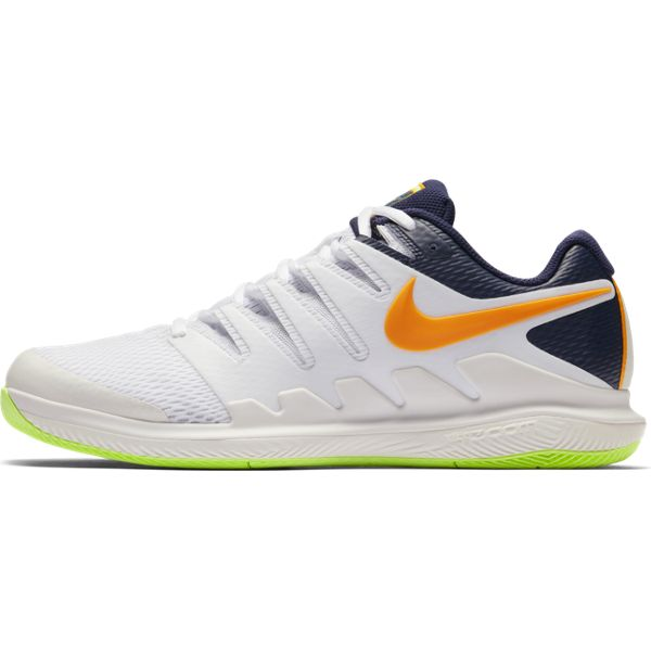 Nike Air Zoom Vapor X Men's Tennis Shoe (Phantom Orange/Blue/White) - RacquetGuys