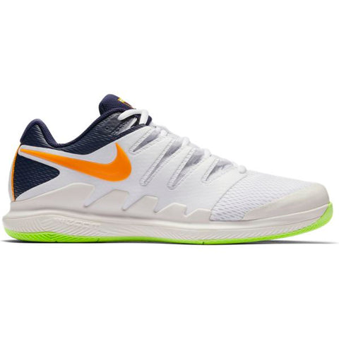 Nike Air Zoom Vapor X Men's Tennis Shoe (Phantom Orange/Blue/White)