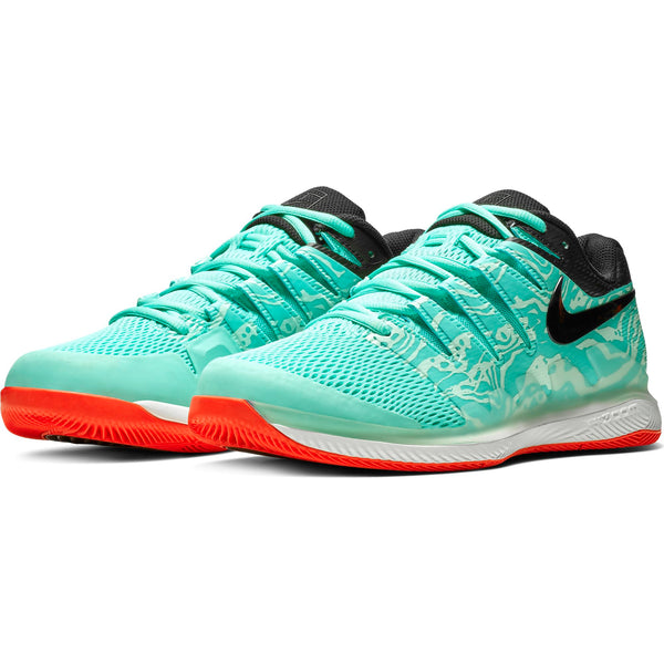 Nike Air Zoom Vapor X Men's Tennis Shoe (Green/Black) - RacquetGuys