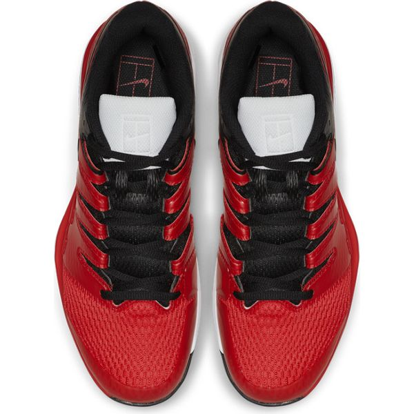 Nike Air Zoom Vapor X Men's Tennis Shoe (Red/Black) - RacquetGuys