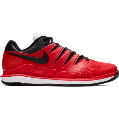 Nike Air Zoom Vapor X Men's Tennis Shoe (Red/Black)