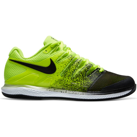Nike Air Zoom Vapor X Men's Tennis Shoe (Neon Yellow/Black) - RacquetGuys