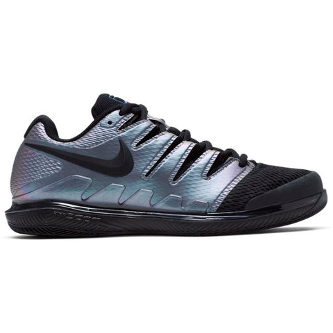 Nike Air Zoom Vapor X Men's Tennis Shoe (Black/Silver) - RacquetGuys
