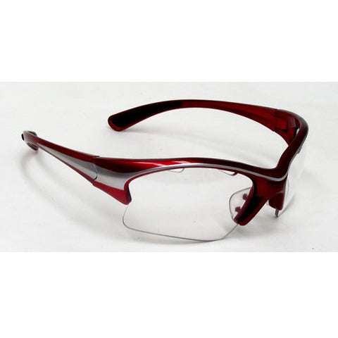 Black Knight Stiletto Eyeguard (Red/Silver) - RacquetGuys