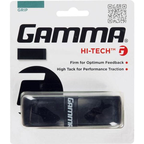 Gamma Hi-Tech Replacement Grip (Black) - RacquetGuys.ca