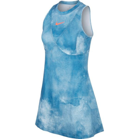 Nike Women's Dri-FIT Maria Dress (Blue) - RacquetGuys