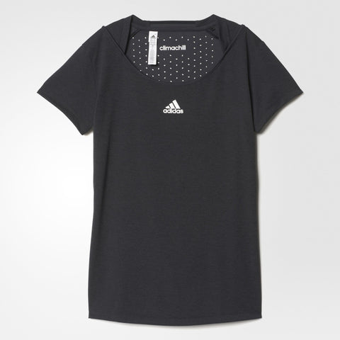 adidas Women's Uncontrol Climachill Top (Black)