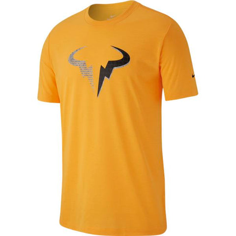 Nike Men's Dri-Fit Rafa Top (Orange) - RacquetGuys