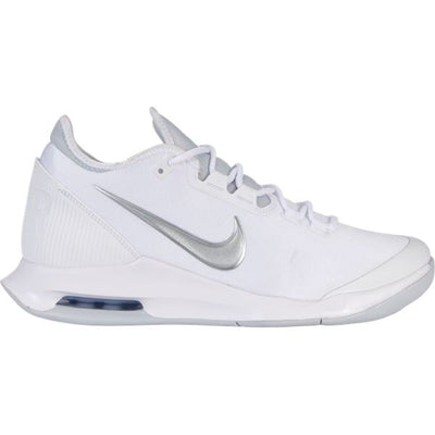 Nike Air Max Wildcard Women's Tennis Shoe (White/Silver)