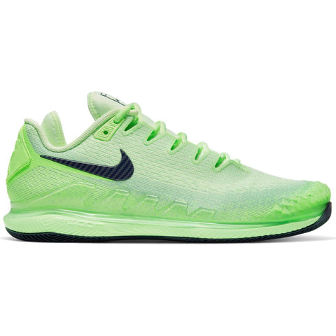 Nike Air Zoom Vapor X Knit Men's Tennis Shoe (Green/Blue)