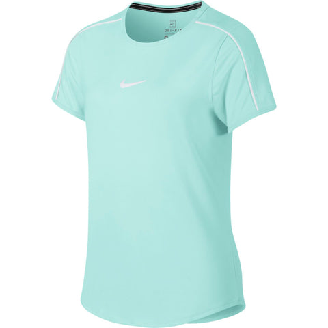 Nike Girl's Dri-FIT Top (Teal) - RacquetGuys.ca
