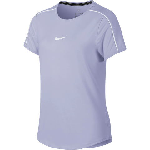 Nike Girl's Dri-FIT Top (Oxygen Purple) - RacquetGuys.ca