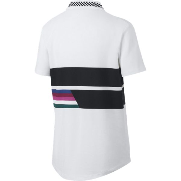 Nike Boy's Advantage Polo (White) - RacquetGuys