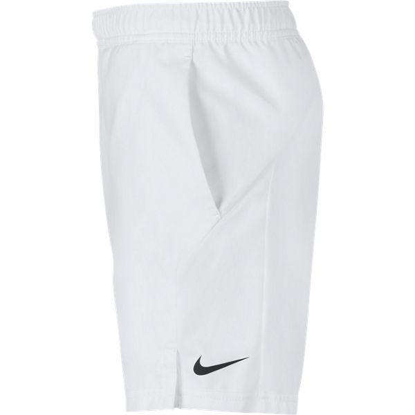 Nike Boy's Dri-FIT Shorts (White) - RacquetGuys