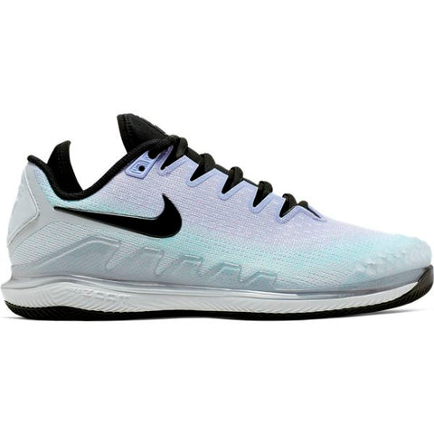 Nike Air Zoom Vapor X Knit Women's Tennis Shoe (Platinum/Purple) - RacquetGuys.ca