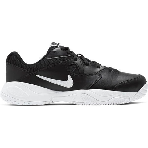 Nike Court Lite 2 Men's Tennis Shoe (Black/White) - RacquetGuys