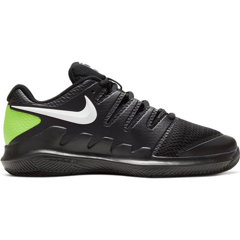 Nike Junior Vapor X Junior Tennis Shoe (Black/White) - RacquetGuys.ca