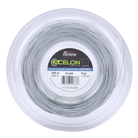 Acelon Advanced Copoly 16 Tennis String Reel (Silver) - RacquetGuys.ca