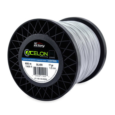 Acelon Advanced Copoly 17 Tennis String Large Reel (Silver)