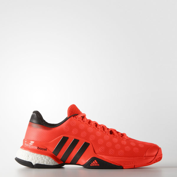 adidas Barricade Boost 2015 Men's Tennis Shoe (Solar Red) - RacquetGuys