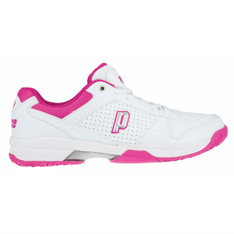 Prince Advantage Lite Women's Tennis Shoe (White/Pink) - RacquetGuys