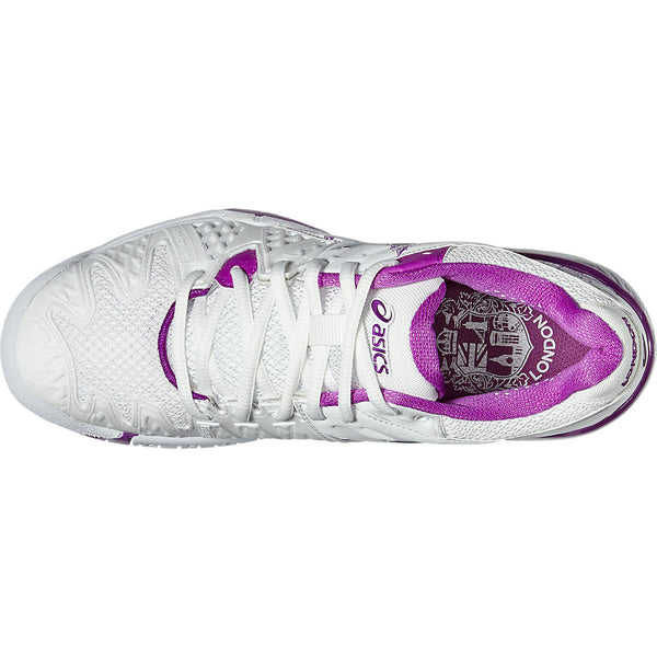 Asics Gel Resolution 6 Ltd. Ed. London Women's Tennis Shoe - RacquetGuys