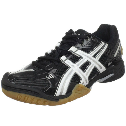 Asics Gel Domain 2 Women's Indoor Court Shoe (Black/White) - RacquetGuys