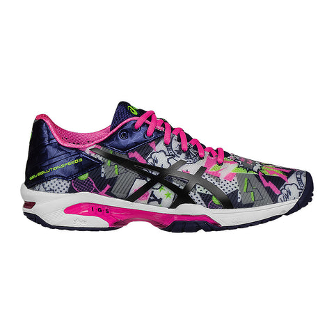 Asics Gel Solution Speed 3 Ltd. Ed. NYC Women's Tennis Shoe - RacquetGuys