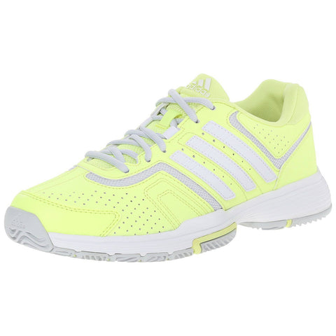 adidas Barricade Court Women's Tennis Shoe (Yellow/White/Grey) - RacquetGuys