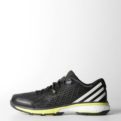 adidas Energy Boost Men's Shoes (Dark Grey/White/Yellow) - RacquetGuys.ca