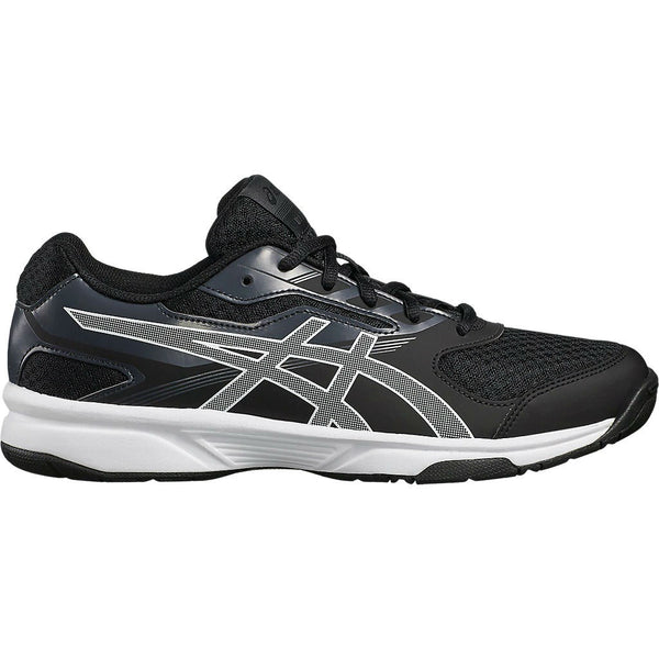 Asics Gel Upcourt 2 Men's Indoor Court Shoe (Black/White) - RacquetGuys.ca