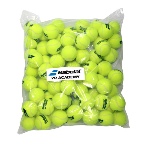 Babolat Academy Pressureless Tennis Balls - Bag/72 (Yellow) - RacquetGuys