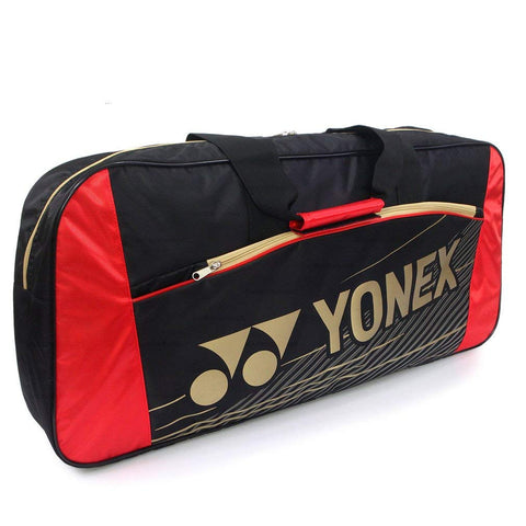 Yonex EX Tournament Racquet Bag (Black/Red)
