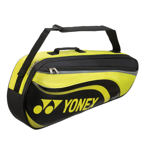 Yonex Active Series 3 Racquet Bag (Black/Lime)