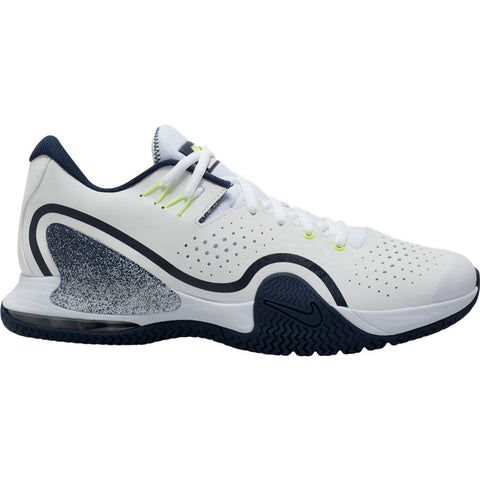 Nike Tech Challenge 20 Men's Tennis Shoe (White/Black) - RacquetGuys