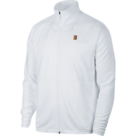 Nike Men's Essential Warm-Up Jacket (White) - RacquetGuys