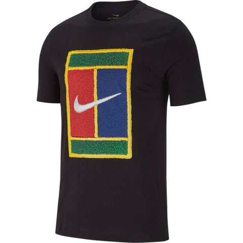 Nike Men's T-Shirt (Black) - RacquetGuys