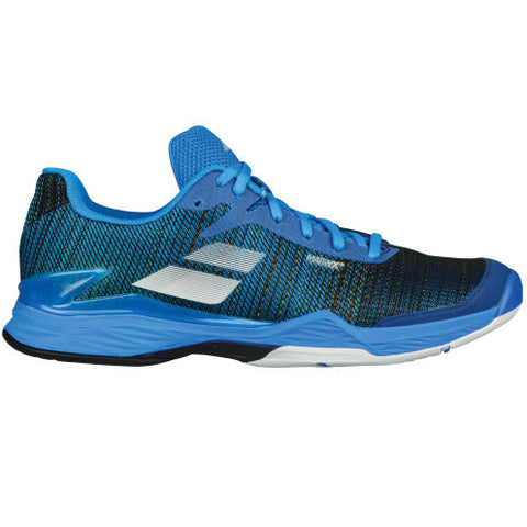 Babolat Jet Mach II Men's Tennis Shoe (Blue/Black) - RacquetGuys
