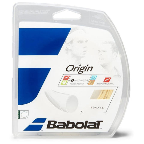 Babolat Origin 16 Tennis String (Natural) - RacquetGuys