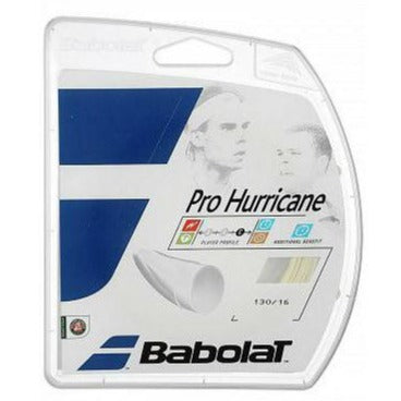 Babolat Pro Hurricane 16 Tennis String (Natural) - RacquetGuys