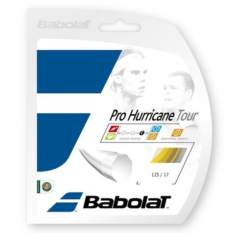 Babolat Pro Hurricane Tour 17 Tennis String (Yellow) - RacquetGuys
