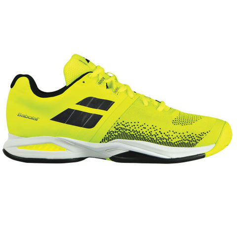 Babolat Propulse Blast AC Mens Tennis Shoe (Yellow/Black) - RacquetGuys