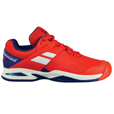 Babolat Propulse AC Junior Tennis Shoe (Red/Blue) - RacquetGuys.ca
