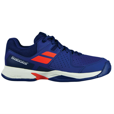 Babolat Pulsion AC Junior Tennis Shoe (Blue/Orange) - RacquetGuys.ca